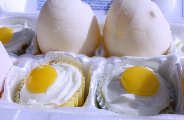 Egg Cup Cakes