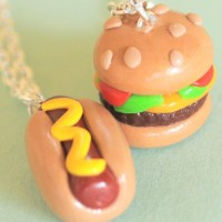 hotdog-hamburger-necklaces