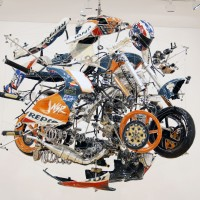 dogsville-Motorcycle-Art-Sculpture-of-Mick-Doohans-Honda-NSR500-2